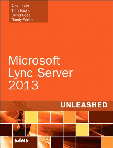Microsoft Lync Server 2013  2nd 2013 edition cover