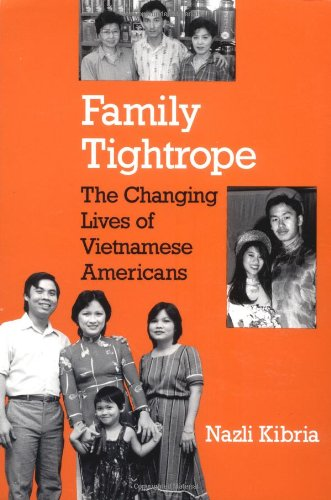 Family Tightrope The Changing Lives of Vietnamese Americans  1995 edition cover