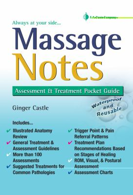 Massage Notes A Pocket Guide to Assessment and Treatment N/A edition cover