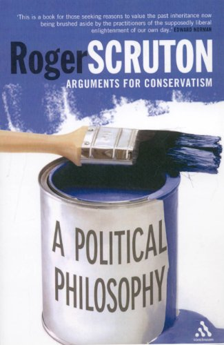Political Philosophy Arguments for Conservatism  2007 edition cover