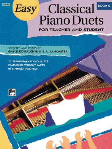 Easy Classical Piano Duets for Teacher and Student, Bk 2   1998 edition cover