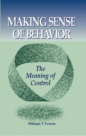 Making Sense of Behavior The Meaning of Control  1998 edition cover