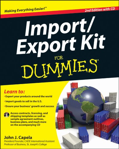 Import/Export Kit for Dummies  2nd 2012 edition cover