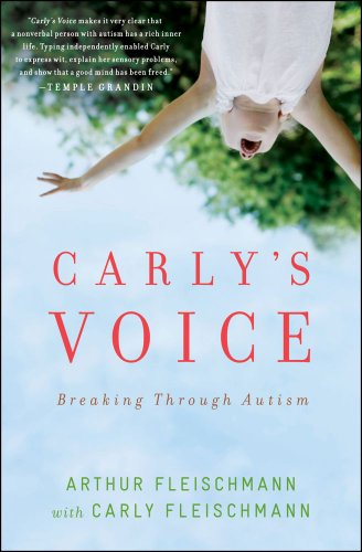 Carly's Voice Breaking Through Autism  2012 edition cover