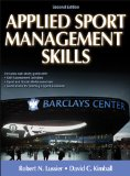 Applied Sport Management Skills:   2013 edition cover