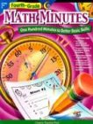 Math Minutes Grade 4  2002 edition cover