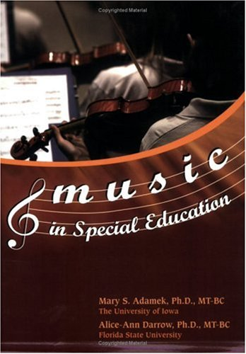Music in Special Education  2005 edition cover