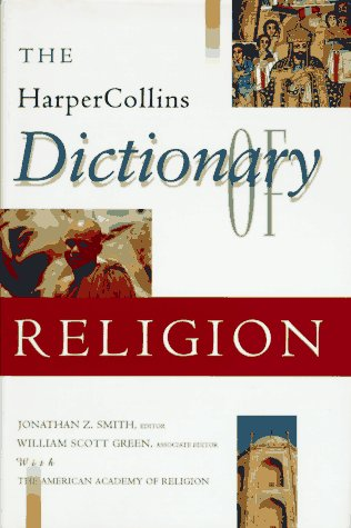 HarperCollins Dictionary of Religion   1995 9780060675158 Front Cover