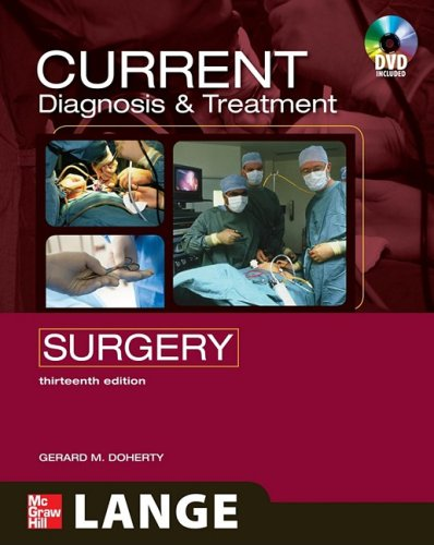 Current Diagnosis and Treatment Surgery  13th 2010 edition cover