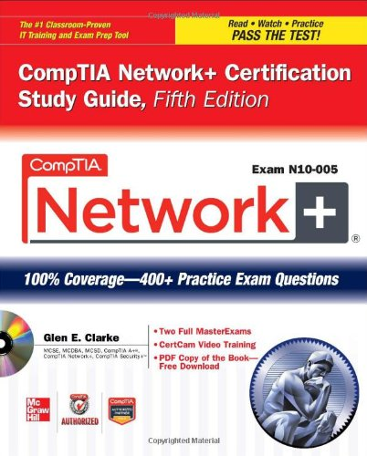 CompTIA Network+  5th 2012 (Student Manual, Study Guide, etc.) edition cover