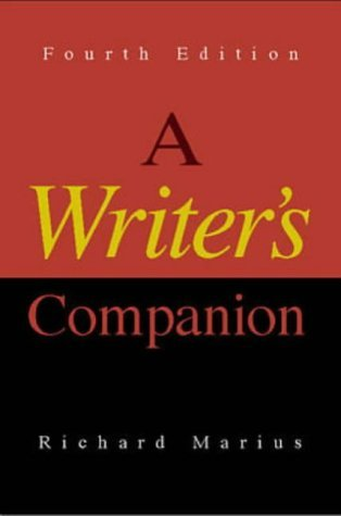 Writer's Companion  4th 1999 (Revised) edition cover