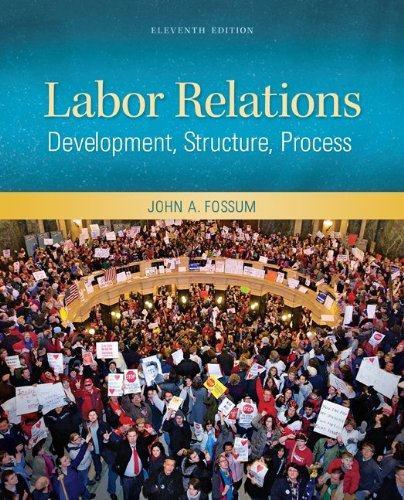 Labor Relations  11th 2012 edition cover