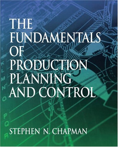 Fundamentals of Production Planning and Control   2006 edition cover