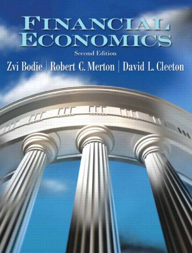 Financial Economics  2nd 2009 (Revised) edition cover