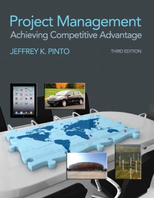 Project Management Achieving Competive Advantage 3rd 2013 (Revised) edition cover