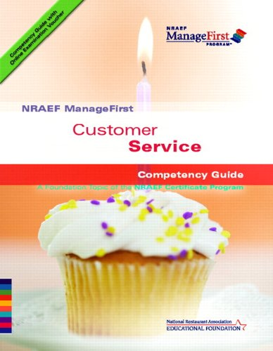 ManageFirst Customer Service with on-Line Testing Access Code Card and Test Prep   2007 9780135072158 Front Cover