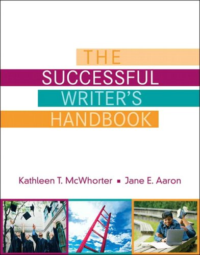 Successful Writer's Handbook   2009 (Handbook (Instructor's)) edition cover