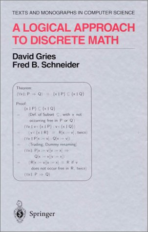 Logical Approach to Discrete Math  2nd 1993 edition cover