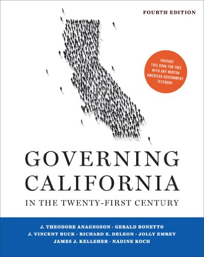 Governing California in the Twenty-First Century  4th 2013 edition cover