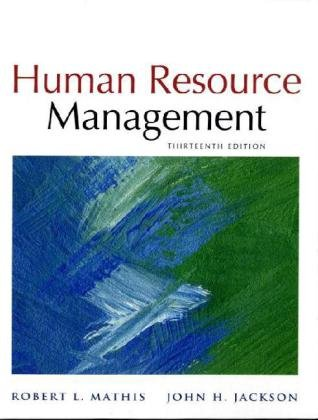 Human Resource Management  13th 2011 9780538453158 Front Cover