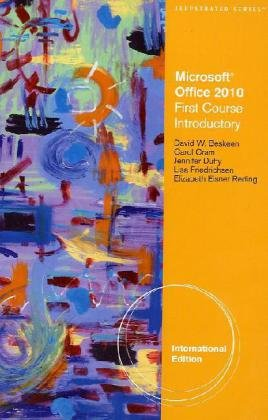 Microsoft� Office 2010 Introductory  2011 9780538747158 Front Cover