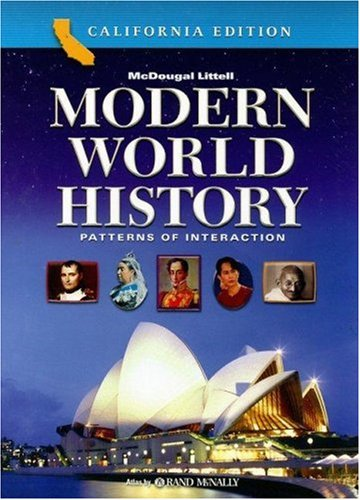 Modern World History California Edition : Patterns of Interaction 1st 9780618557158 Front Cover