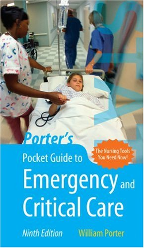 Porter's Pocket Guide to Emergency and Critical Care  9th 2007 (Revised) edition cover