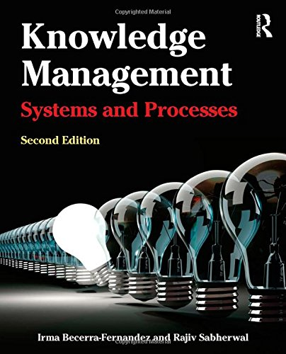 Knowledge Management Systems and Processes 2nd 2015 edition cover