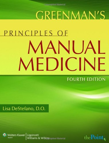 Greenman's Principles of Manual Medicine  4th 2011 (Revised) edition cover