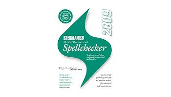 Stedman's Plus Medical/Pharmaceutical Spellchecker, 2009, Single-user:  2009 edition cover