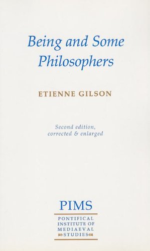 Being and Some Philosophers  2nd 1952 edition cover