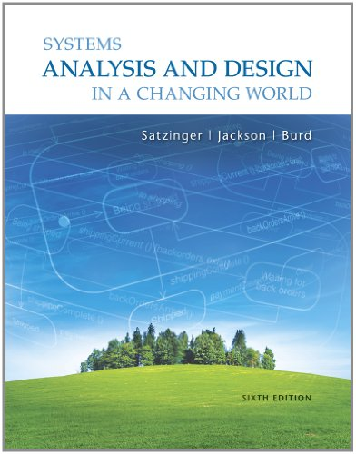 Systems Analysis and Design in a Changing World  6th 2012 edition cover