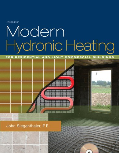 Modern Hydronic Heating For Residential and Light Commercial Buildings 3rd 2012 edition cover