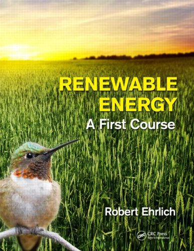 Renewable Energy A First Course  2013 edition cover