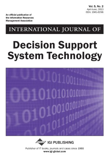International Journal of Decision Support System Technology, Vol 5 ISS 2  0 edition cover