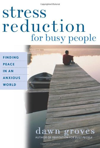 Stress Reduction for Busy People Finding Peace in an Anxious World  2004 edition cover