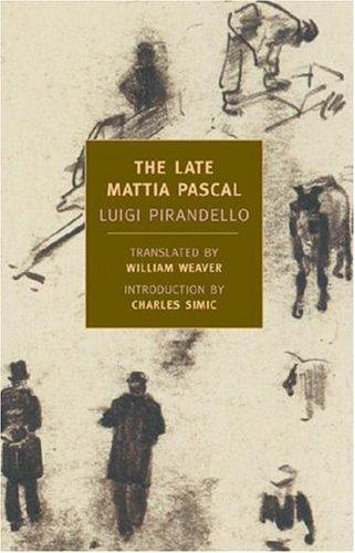 Late Mattia Pascal   2005 edition cover