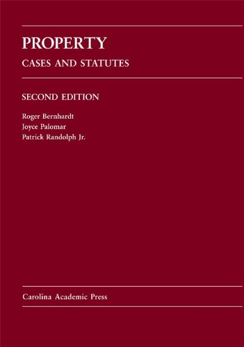 Property Cases and Statutes 2nd 2009 edition cover