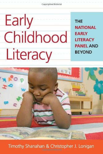 Early Childhood Literacy The National Early Literacy Panel and Beyond  2012 edition cover