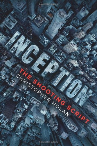 Inception The Shooting Script  2010 edition cover