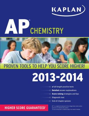 Kaplan AP Chemistry 2013-2014  N/A edition cover