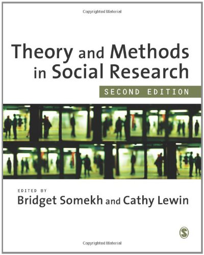 Theory and Methods in Social Research  2nd 2011 edition cover