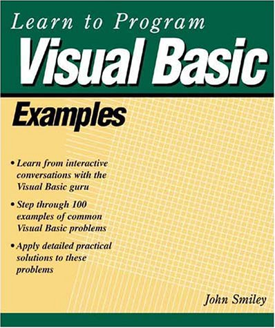 Visual Basic Examples 2nd 2001 9781929685158 Front Cover