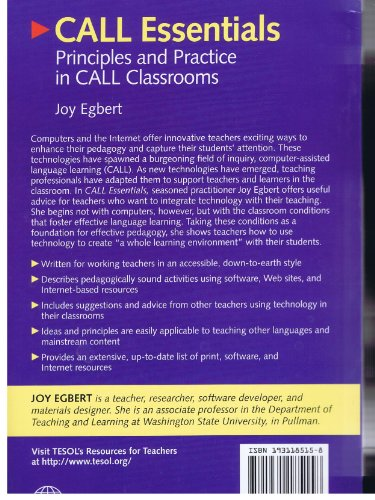 CALL Essentials Principles and Practice in CALL Classrooms  2005 edition cover