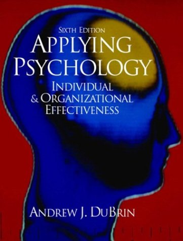 Effective Business Psychology  6th 2004 edition cover