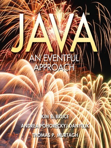 Java An Eventful Approach  2005 edition cover