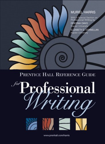 Professional Writing   2007 9780131789159 Front Cover