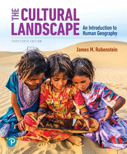The Cultural Landscape: An Introduction to Human Geography  2019 9780135116159 Front Cover