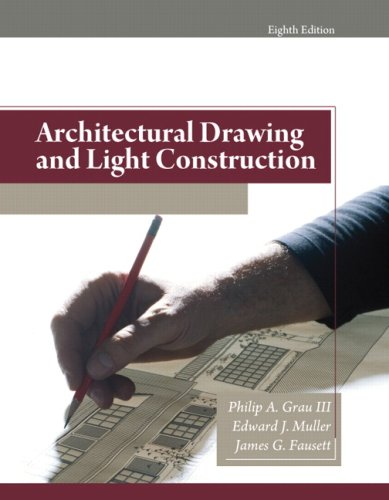 Architectural Drawing and Light Construction  8th 2009 edition cover