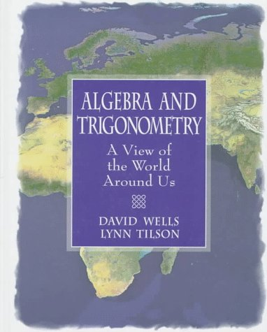 Algebra and Trigonometry  1st 1998 9780137125159 Front Cover